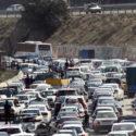 ترافیک در محور کرج – چالوس/فردا چالوس یک طرفه است
