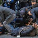 دستگیری ۶۱ تظاهرکننده در آنکارا