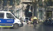 ۳ کشته و ۲۰ زخمی در حمله خودرو به مردم در اسپانیا + عکس