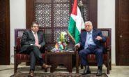 درخواست محمود عباس برای میانجیگری آلمان و فرانسه در روند صلح خاورمیانه