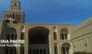 عمارت آقازادهای که تنها بادگیر ۲ طبقه جهان در خانهاش دارد