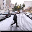 بارش تگرگ و رگبار شدید مناطق مختلفی از تهران را در برگرفت.