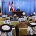 رئیس جمهور : دو ملت ایران و عراق از لحاظ فرهنگی و اعتقادی کاملاً متحدند
