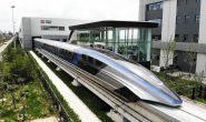 قطار مغناطیسی چینی و راه اندازی سریعترین وسیله نقلیه زمینی جهان (+ عکس)