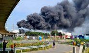 انفجار مهیب شهر لِوِرکوزن آلمان را به لرزه درآورد